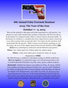 8th Annual Foley Forensic Seminar (final)